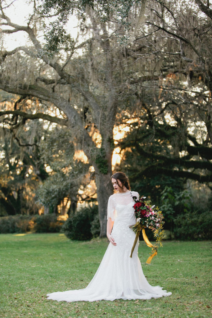 eden garden 30a wedding editorial