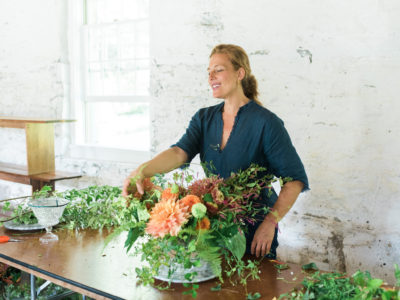 Studio Petali at Wedding flower workshop Ariella Chezar and Max Gill