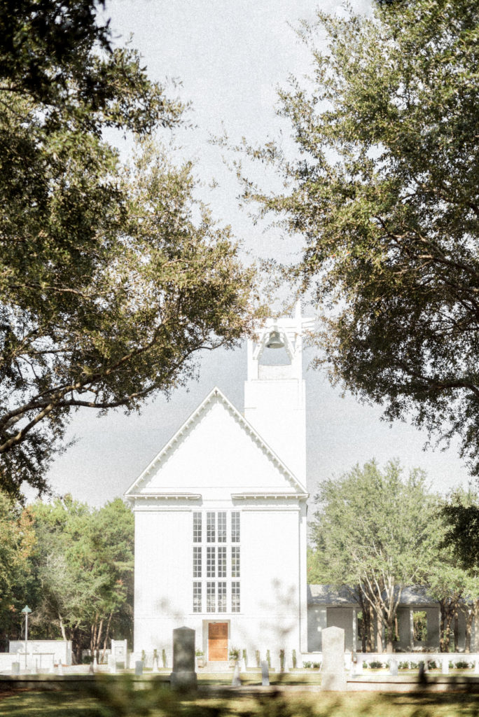 Seaside Chapel Is A Por Church Wedding Venue On 30a